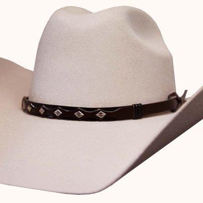 画像2: ブルハイド 8X ファーブレンド カウボーイハット(バックスキン)/Bullhide Cowboy Hat