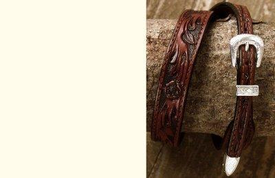 画像2: レザー ハット バンド(ブラウン)/Leather Hat Band(Brown)