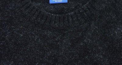 画像2: ペンドルトン シェトランド ウール セーター(ブラック ヘザー)S/Pendleton Shetland Wool Sweater Black Heather