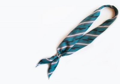 画像2: スカーフ スライド スカーフ留め ネックスカーフ用(ホースシュー・シルバー)/Scarf Slide