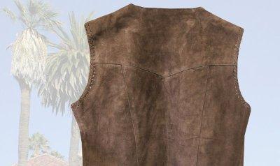 画像2: スカリー ウエスタン フリンジ ベスト(ブラウン)XS/Scully Western Fringe Vest(Women's)