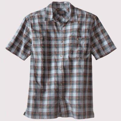 画像1: ペンドルトン バーロウ アウトドア シャツ (半袖 ・ブルー)S/Pendleton Barlow Outdoor Shirt