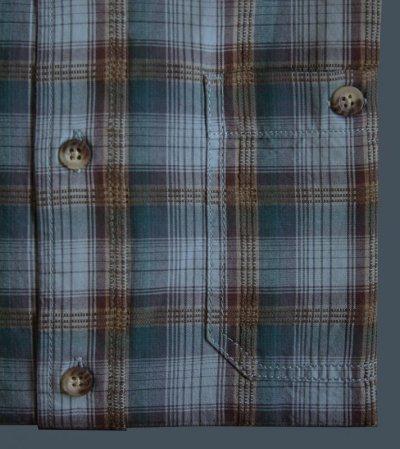 画像2: ペンドルトン バーロウ アウトドア シャツ (半袖 ・ブルー)S/Pendleton Barlow Outdoor Shirt