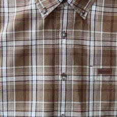 画像3: カーハート 半袖 シャツ(ブラウン)/Carhartt Plaid Shortsleeve Shirt(Brown) (3)