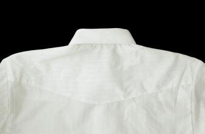 画像3: ローパー ウエスタン シャツ(ホワイト・半袖)/Roper Long Sleeve Western Shirt