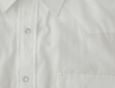 画像2: ローパー ウエスタン シャツ(ホワイト・半袖)/Roper Long Sleeve Western Shirt