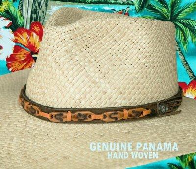 画像2: パナマ リゾート ストローハット(ナチュラル)/Outdoor Straw Hat