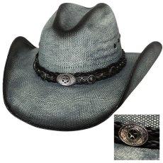 画像1: ブルハイド ウエスタン ストローハット(イントゥ ユー)/BULLHIDE Western Straw Hat Into You (1)