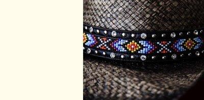 画像2: ブルハイド ウエスタン ストローハット(ラブマイセルフ)M/BULLHIDE Western Straw Hat Love Myself