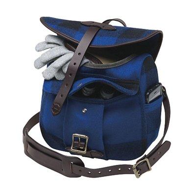 画像2: フィルソン マッキーノ スモール フィールドバッグ(ブルー×ブラック)/Filson Mackinaw Small Field Bag(Blue×Black)