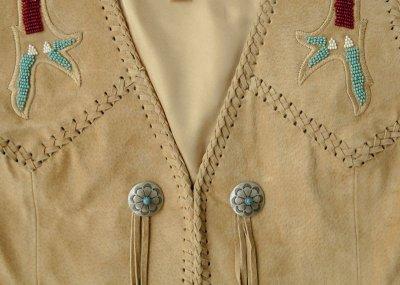 画像3: スカリー ウエスタン フリンジ ベスト(ビーズ・タン)XS/Scully Fringe Vest(Women's)