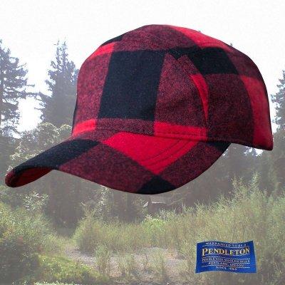 画像1: ペンドルトン ティンバーライン キャップ(ロブロイレッドプラッド)/Pendleton Timberline Cap(Rob Roy Red Plaid)