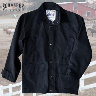 画像2: シェーファー ウエスタン ドリフター コート(ブラック)/Schaefer Drifter Coat(202-Black)