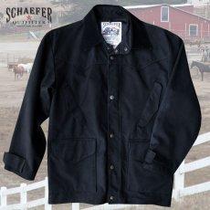 画像2: シェーファー ウエスタン ドリフター コート(ブラック)/Schaefer Drifter Coat(202-Black) (2)