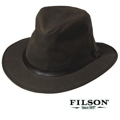 画像1: フィルソン シェルタークロス パッカーハット/Filson Shelter Cloth Packer Hat