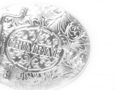 画像2: クラムライン ベルト バックル フローラルスクロール/Crumrine Belt Buckle(Floral Scroll)