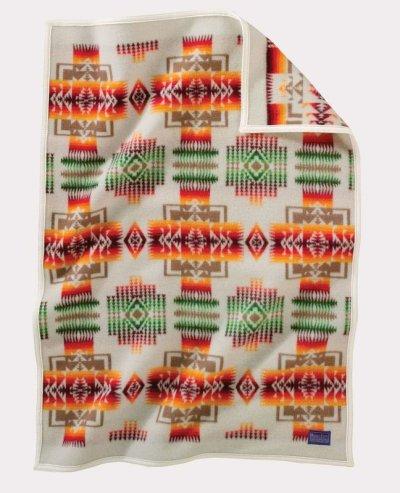 画像1: ペンドルトン チーフジョセフ ムチャチョ ブランケット(アイボリー)/Pendleton Chief Joseph Muchacho Blanket(Ivory)