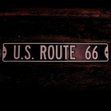 画像1: ルート66 ストリート サイン/Route 66 Sign (1)