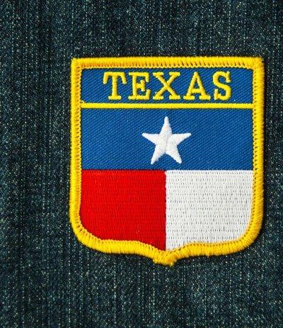 画像1: ワッペン テキサス スター/Patch Texas