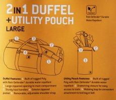 画像3: カーハート ダッフルバッグ ユーティリティポーチつき(カーハートブラウン)/Carhartt Duffle Bag(Carhartt Brown) (3)