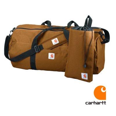 画像1: カーハート ダッフルバッグ ユーティリティポーチつき(カーハートブラウン)/Carhartt Duffle Bag(Carhartt Brown)