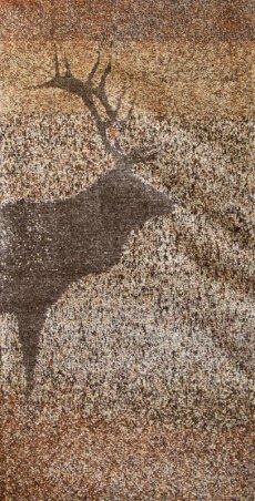 画像3: ペンドルトン キーピングウォッチ(エルク)ブランケット/Pendleton Keeping Watch Blanket(Elk) (3)