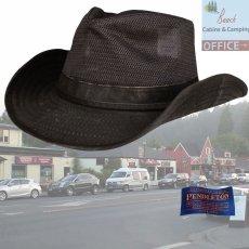画像1: ペンドルトン メッシュ アウトバックハット(ダークブラウン)/Pendleton Weathered Cotton Mesh Outback Hat(Tobacco) (1)