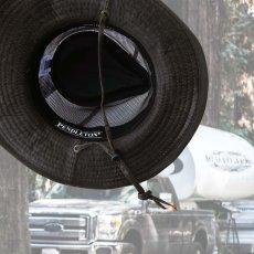 画像2: ペンドルトン メッシュ アウトバックハット(ダークブラウン)/Pendleton Weathered Cotton Mesh Outback Hat(Tobacco) (2)