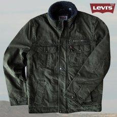 画像1: リーバイス トラッカー ジャケット(オリーブ)/Levi's Jacket(Olive) (1)