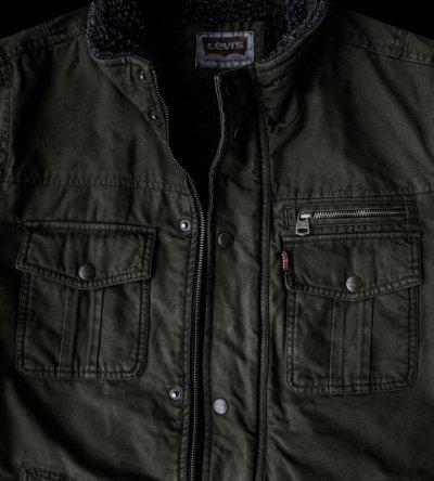 画像2: リーバイス トラッカー ジャケット(オリーブ)/Levi's Jacket(Olive)