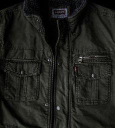 画像3: リーバイス トラッカー ジャケット(オリーブ)/Levi's Jacket(Olive) (3)