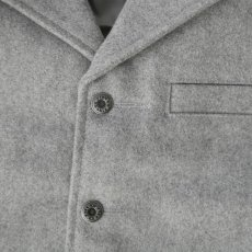 画像2: ウォールズ ウエスタン ウール ベスト(ライトグレー)/Walls Wool Vest (2)