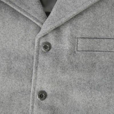 画像2: ウォールズ ウエスタン ウール ベスト(ライトグレー)/Walls Wool Vest