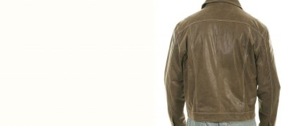 画像3: スカリー レザー ジージャンスタイル ジャケット(ブラウン)/Scully Leather Jean Jacket(Brown)