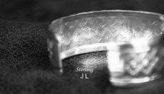 画像3: ナバホ スターリングシルバー ハンドメイド ブレスレット/Navajo Sterling Silver Bracelet (3)