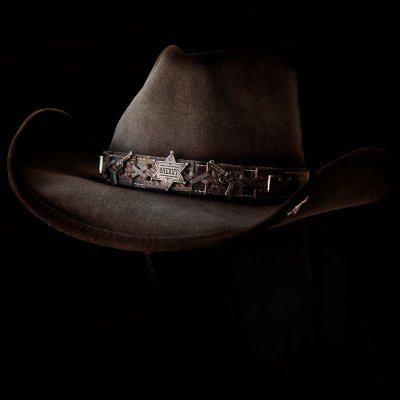 画像2: ベスト ショット ウエスタン プレミアムウール ハット(チョコレート)/Western Premium Wool Hat(Chocolate)