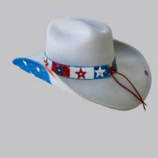 画像2: アメリカ&イーグル ウエスタン プレミアムウール ハット(シルバーベリー)/Western Premium Wool Hat(Silverbelly) (2)