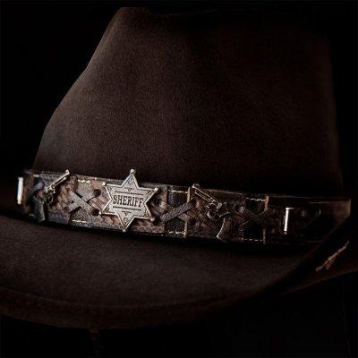 画像1: ベスト ショット ウエスタン プレミアムウール ハット(チョコレート)/Western Premium Wool Hat(Chocolate)