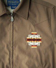 画像2: ペンドルトン チーフジョセフ ジャケット ターコイズ/Pendleton Jacket(Chief Joseph Turquoise) (2)