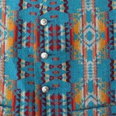 画像2: ペンドルトン U.S.A ヴァ-ジン ウール ベスト(ターコイズ)/Pendleton U.S.A Virgin Wool Vest(Turquoise) (2)