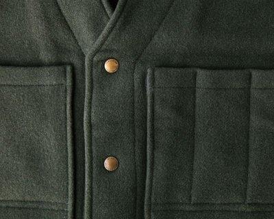 画像3: ペンドルトン ヘリテッッジ リミテッドエディション ウールベスト(フォレストグリーン)M/Pendleton Heritage Limited Edition Wool Vest(Forest Green)