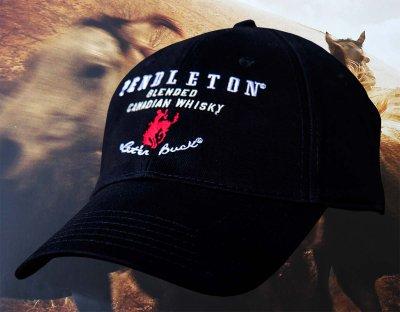 画像1: ペンドルトン ロデオ キャップ(ブラック)/Pendleton Round Up Whisky Cap(Black)