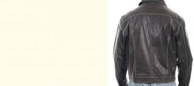 画像3: スカリー レザー ジージャンスタイル ジャケット(ダークブラウン)S/Scully Leather Jean Jacket(Dark Brown)