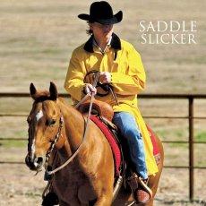画像1: サドルスリッカー・乗馬用レインコート(イエロー)/M&F Western Products Double S Saddle Slicker(Yellow) (1)