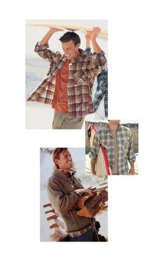画像3: ペンドルトン ウールシャツ ビンテージフィット ボードシャツ クラレット・タン/Pendleton Vintage Fit Board Shirt (3)