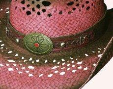 画像2: ブルハイド ウエスタン ストローハット(クローザー)/BULLHIDE Western Straw Hat Closer (2)