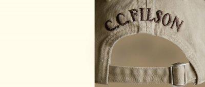 画像2: フィルソン アラスカ アウトフィッターズ キャップ(ホワイト)/Filson Cap
