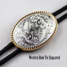 画像1: ウエスタン ボロタイ/Western Bolo Tie (1)