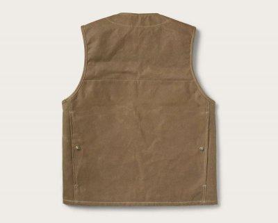 画像3: フィルソン マッキーノウールラインド ティンクロス クルーザー ベスト(ダークタン)XS/Filson Lined Cruiser Vest(Dark Tan)