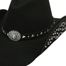 画像2: ブルハイド カウボーイハット レッツゲットラウド(ブラック)M/Bullhide Cowboy Hat Let's Get Loud(Black) (2)